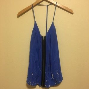 Urban Outfitters Blue Summer Top